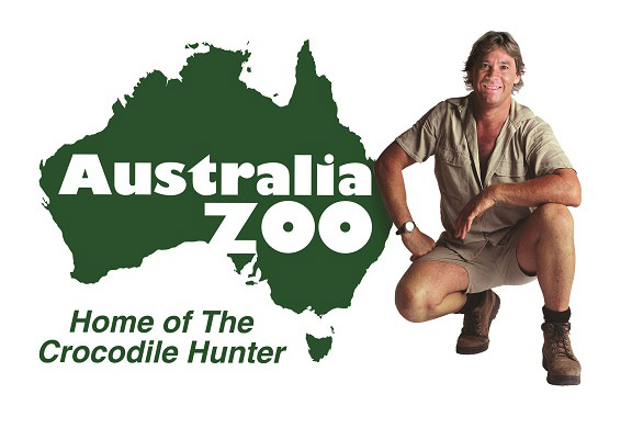 Austrialia Zoo - Home of the Crocodile Hunder Logo